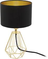 Eglo Leuchten Tischleuchte CARLTON 2 - messing, schwarz, gold