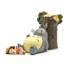 Ghibli Miyazaki Hayao My neighbor totoro stump sleeping Totoro Mei Figure Statue