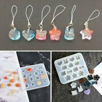 Silicone Resin Mold DIY Jewelry Pendant Making Tool Mould Handmade Craft