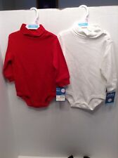 Baby Pajama One piece- Carters NWT, Size 9 Month, 2 piece Red White NEW