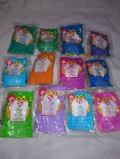 Lot Of 12 Mcdonalds Happy Meal TY Teenie Beanie Babies 1999 Ages 1+ China New...