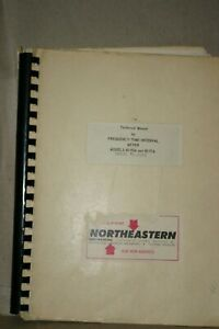 Northeastern 40-90A/91A, 40-80PC Frequency/Time Interval Meter technical Manual