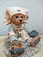 Boyds Bears Figurine Bearstone Collectible Bear Nurse The Boyds Collection Gift