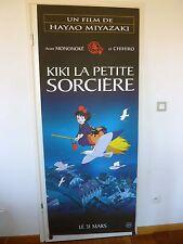 Affiche Pantalon 80X200 KAKEMONO Plastifié MIYAZAKI - KIKI LA PETITE SORCIERE