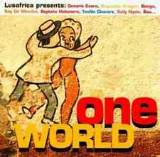 """ONE WORLD"" Lusafrica (CD 2001) Cesaria Evora/Bonga 13-Tracks ***EXCELLENT***"