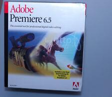 Adobe Premiere 6.5 Windows brand new sealed genuine 25500410 retail