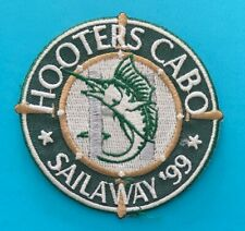 Vintage Hooters Cabo Patch Sailaway '99 128S