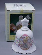 "Precious Moments ""You Are as Pretty as Christmas Tree"" 1994 Porcelain Bell"