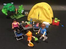 Playmobil 5435 Summer Fun Camping Set  Not A Complete Set 2010