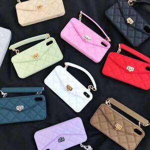 Fashion Handbag Wallet Soft Case For iPhone 6-11+ Huawei P40 P30 Mate 30+ Nova7+
