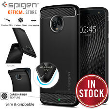 SPIGEN Rugged Armor Resilient Soft Cover for Moto G6 Case