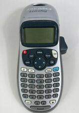 New Listingdymo Letra Tag Lt 100h Portable Electronic Label Printer Gray Color Works Good