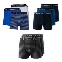 Farah Boxer Shorts Assorted 3 Pack Trunks