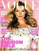 VOGUE UK March 2006 KATE MOSS Karen Elson JULIA DUNSTALL Behati Prinsloo @GOOD@