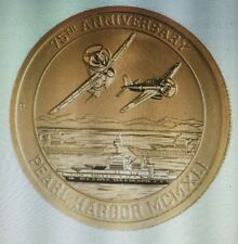1/10 oz gold 9999 75th annv.Pearl Harbor +1oz silver Coin/