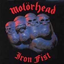 MOTORHEAD - Iron Fist LP - 180 Gram Vinyl Album - SEALED Record Reissue