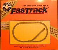 Lionel Fastrack Siding Add-On Track Pack 6-12044 Brand New Ships Free US