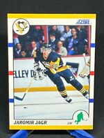 1990-91 Score Traded #70T Jaromir Jagr RC Rookie Card Penguins