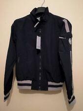 Trussardi Collection Carovilli Windbreaker Jacket Navy Size Small New