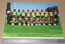 CLIPPING POSTER FOOTBALL 1980-1981 D2 ES MONTLUCON