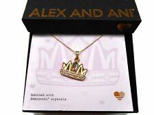 "Alex and Ani Queen Mom Necklace 32"" Expandable Shiny Rose Gold NWTBC"