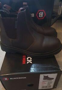 Blackrock SF12C06 Safety Boots Men/Women UK6 EUR39 Brown