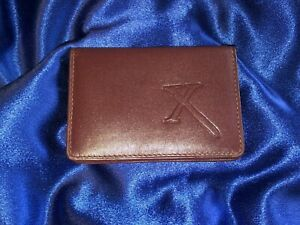 VERY RARE OFFICIAL Xena Wallet - Genuine Leather - BRAND NEW - NEVER USED