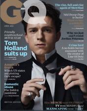 British GQ Magazine April 2021: TOM HOLLAND COVER FEATURE Spider-man CHERRY