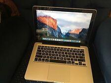 MacBook Pro 13 in (environ 33.02 cm), i5 2.5Ghz, 8 Go, 240 GO SSD +1 To disque dur, mi 2012