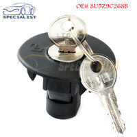 Fuel Tank Plug Cover Cap w// 2 Keys 8U5Z9C268B For Ford NEW Locking Gas