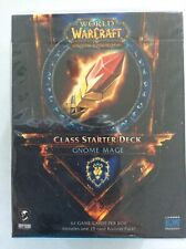 World Of Warcraft TCG Alliance Gnome Mage Class Startter Deck