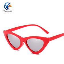 Fashion Vintage Retro Cat Eye Triangle Sunglasses UV400 Eyewear Tiny Sun glasses