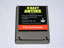 K-Razy Antiks cartridge - Atari 400/800/XL/XE computer - WORKS & GUARANTEED! #1