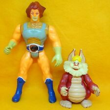 VINTAGE 80s LJN TOYS THUNDERCATS LION-O LIONO COMPANION SNARF ACTION FIGURES LOT