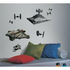 RoomMates Star Wars Wall Sticker, Kids Rebels & Imperial Ships Giant Wall Decals