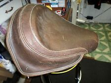 INDIAN MOTORCYCLE SEAT PILOT LEATHER BROWN 2009 #48