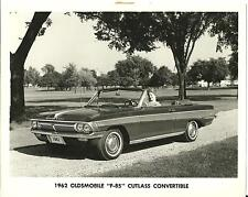 1962 Oldsmobile F-85 Cutlass Convertible Original Press Photo & Release