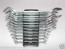 KS Tools Ultimate + CONJUNTO DE LLAVES ABIERTAS Dobles 12pcs Inglesa 6x7-30x32