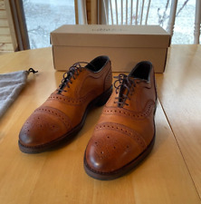 Allen Edmonds Brown Leather Strand Weatherproof EUR 41.5 D