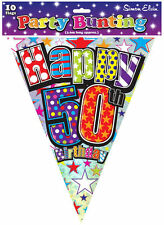 Birthday, Adult 1-5 m Party Buntings
