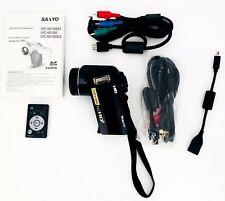 SANYO HD1000 Digital Video Camera With Xacti HD Lens (no power cord)