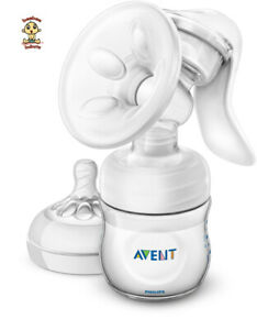 Avent Manual Breast Pump - Natural (w/ spiral teats) SCF330/30 Authentic Bnew
