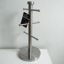 Russell Hobbs Stainless Steel Mug Tree mug rack kitchen accessory mug Holder new