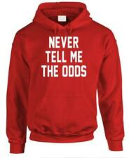 NEVER TELL ME THE ODDS - Fleece Pullover Hoodie