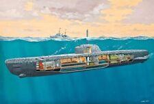 Revell Deutsches U-Boot Tipo XXI con interiores - 05078