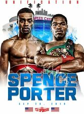 Errol Spence Jr vs Shawn Porter 4LUVofBOXING New WH or BK Boxing Posters