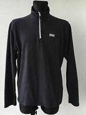 Helly Hansen Jumper Black Polyester Men's Clothing Activewear Size XL/TG