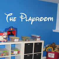 The Playroom Wall Art Vinyl Decal Sticker Play Room Toy Box Kids Child's Bedroom