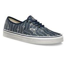 Vans Authentic (Indigo) Mood Indigo/White Men's Skate Shoes SIZE 11.5
