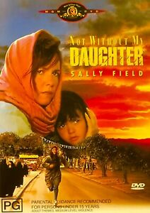 127🆕sealed-Not Without My Daughter Sally Field Alfred - Dvd R4